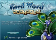 Bird Word Mahjongg