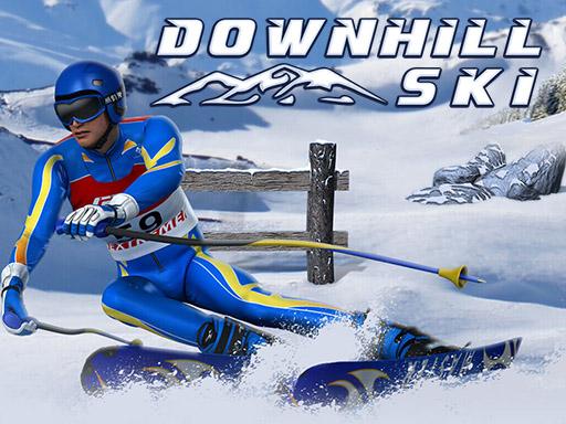 downhill-ski