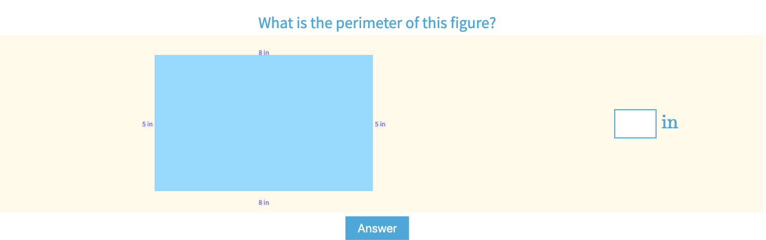 Find The Perimeter