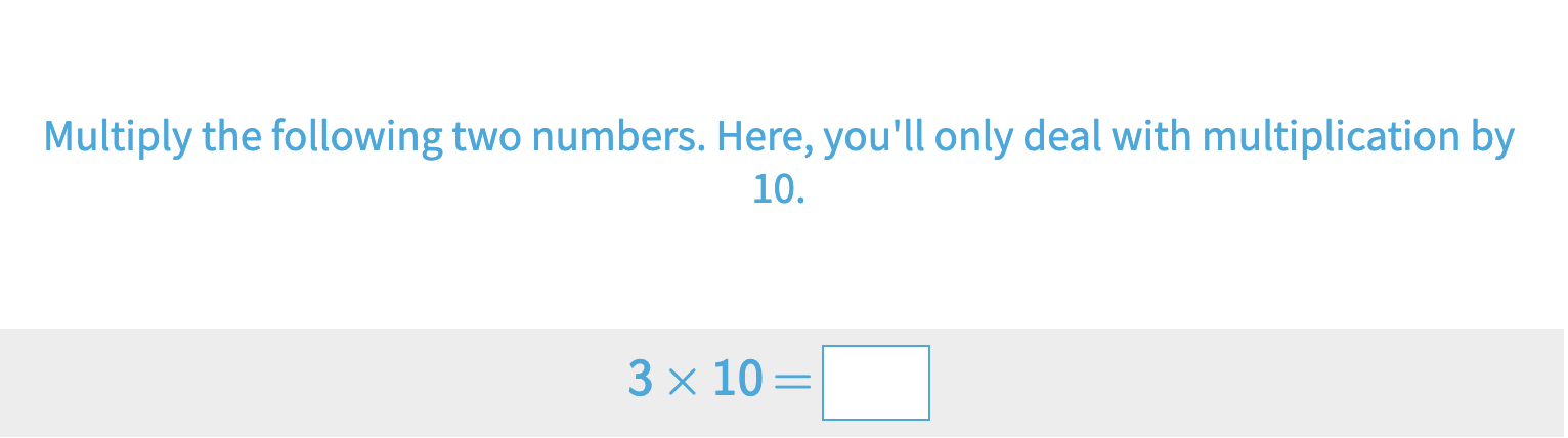 Multiplication By 10