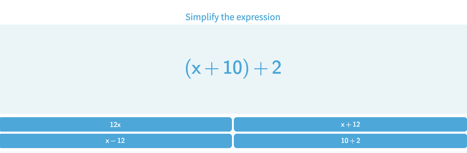 Simplify Variable Expressions