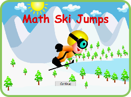 Math Ski Jumps