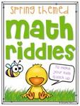 math-riddles-spring